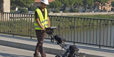 Georadar dedicate pentru poduri