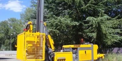 Masini de foraj pentru lucrari geotehnice