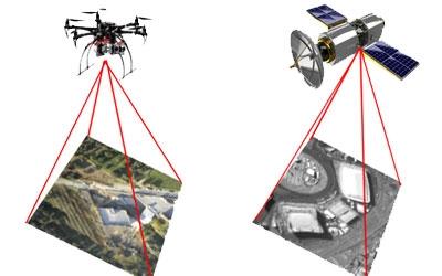 Fotografiere cu dronă și satelit