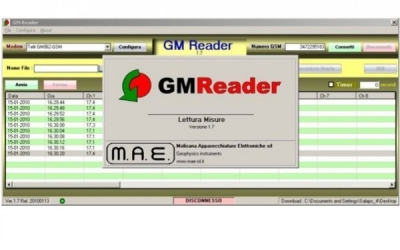 Monitorizare GMREADER