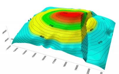 SURFER-13 - crearea hartilor 3D