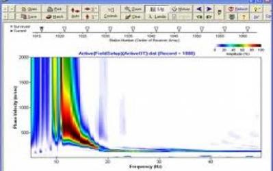SURFSEIS 4 - procesarea datele seismice active sau pasive